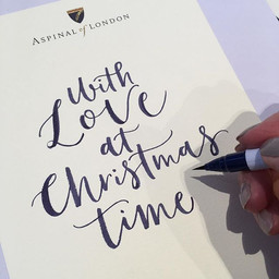 Doing custom Calligraphy messages  in _a