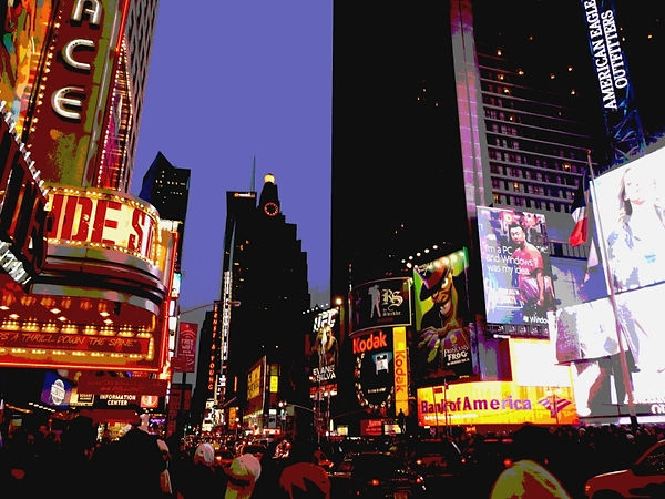 1_Karin Lansen_New York Lights_Times Squ