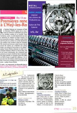 L'Hay Infos - Novembre 2009