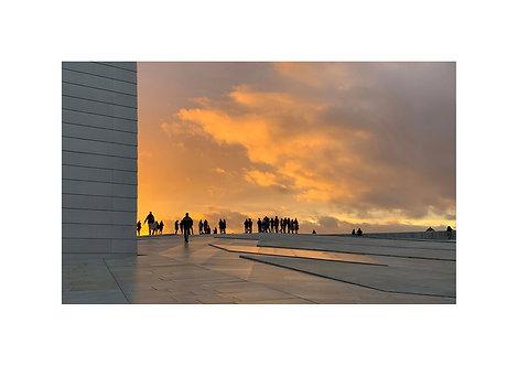 Un soir sur la Terre... à Oslo . numéro 2/8
