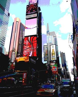 36_Karin Lansen_New York Lights_Times Sq