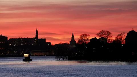 Un soir sur la Terre à Stockholm