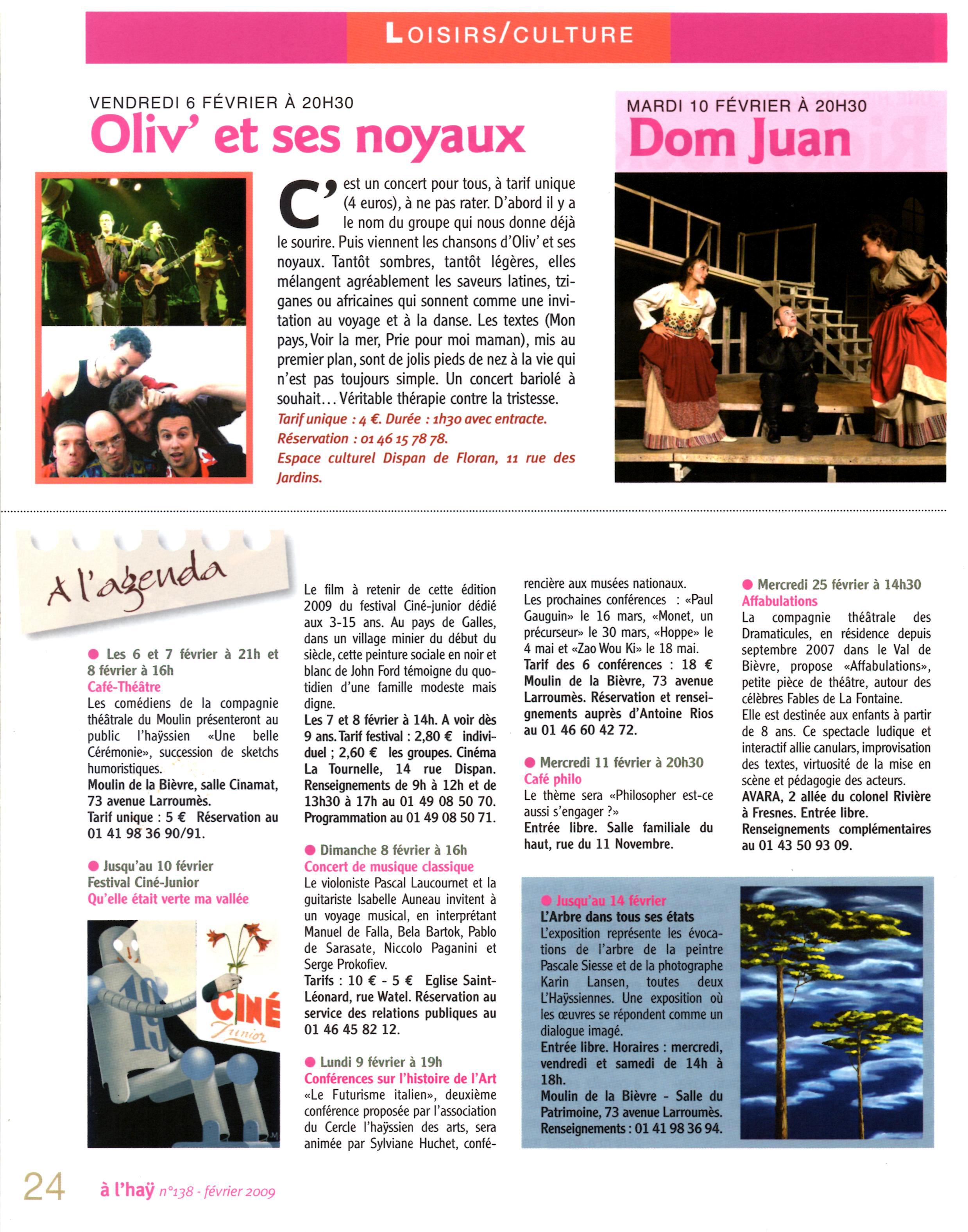 L'Hay Infos - Mars 2009