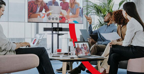 How do you share your video call with a meeting room?