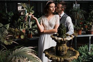 זוג מתחתן בעדיה