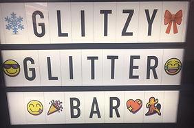 Glitzy Glitter Bar