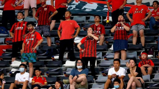 Chinese Super League opens to fans