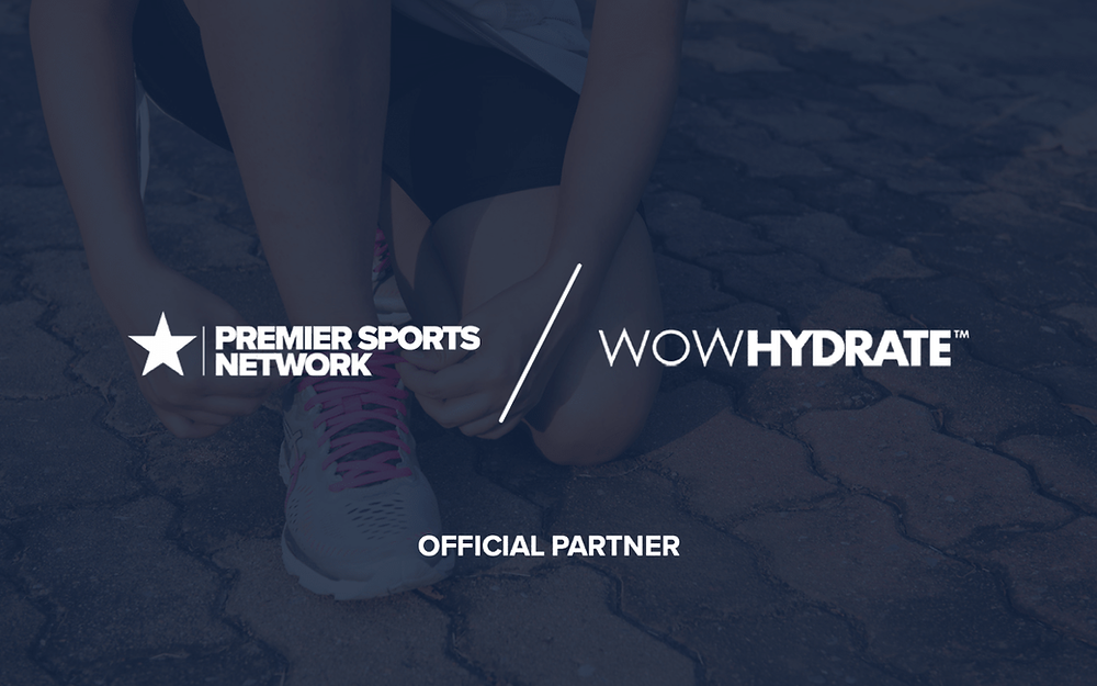 Premier Sports Network is delighted to announce a new partnership with WOW HYDRATE