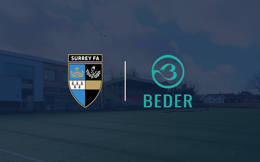 surrey fa announce partnership with Beder to raise awareness around mental health on blue monday