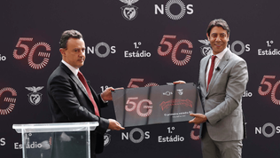 Benfica become the first Portuguese club to offer 5G connectivity at their stadium