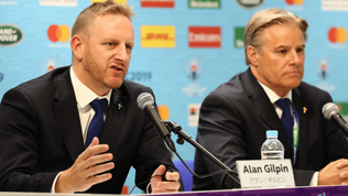 Alan Gilpin appointed World Rugby CEO