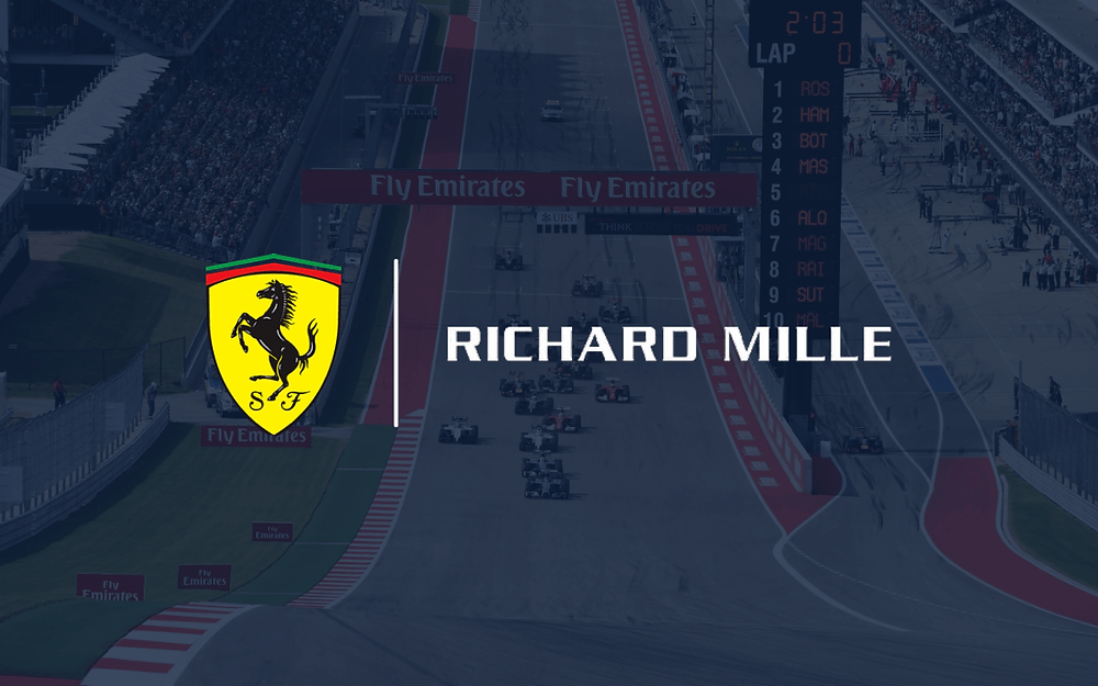 Ferrari announce partnership with Richard Mille as official timekeeper