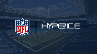 NFL announces Hyperice as its Official Recovery Technology partner