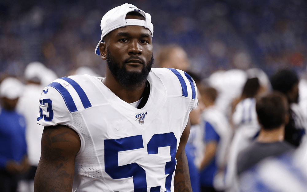 Darius Leonard discusses his struggles with mental health and anxiety after brother's death