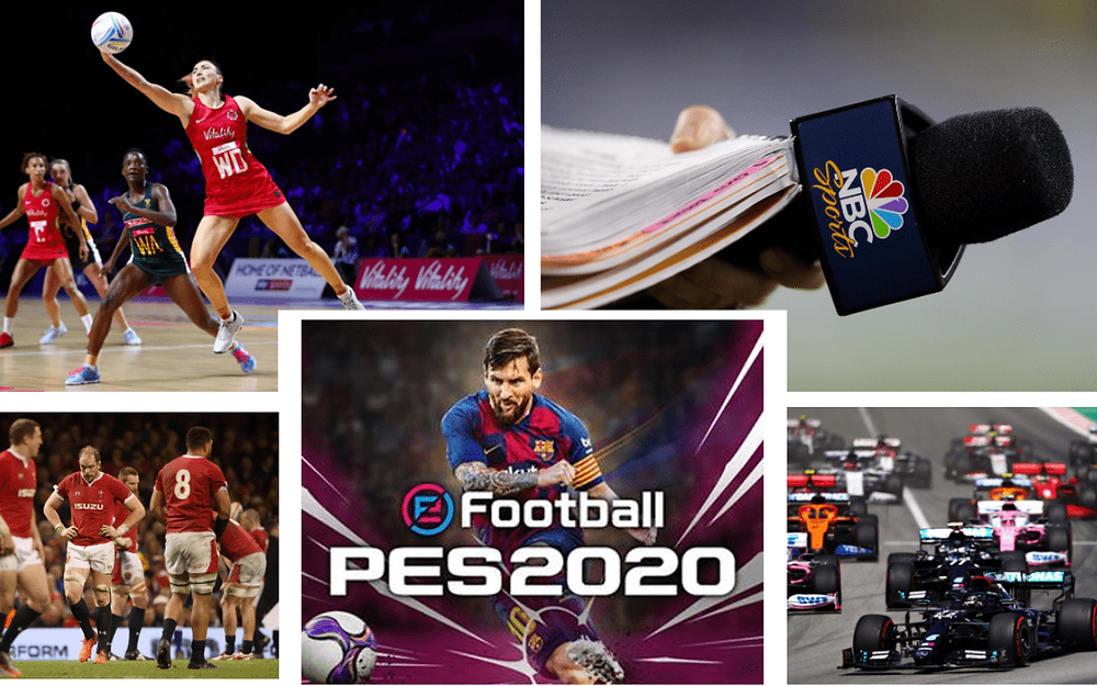 The Monday Sport's Round-Up | Formula 1, Netball, Konami and EA Sports