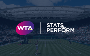 WTA announce Stats Perform as official data supplier