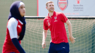Arsenal and Save the Children launch project to mark 10 years of Syrian war