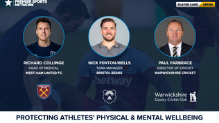 Protecting Athletes' Physical & Mental Wellbeing | PLAYER CARE SERIES