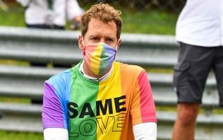 Sebastian Vettel on speaking out as an LGBTQ+ ally: 'Everyone has the same right to love'