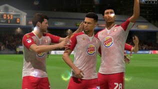 Burger King and Stevenage FC take over the virtual footballing world