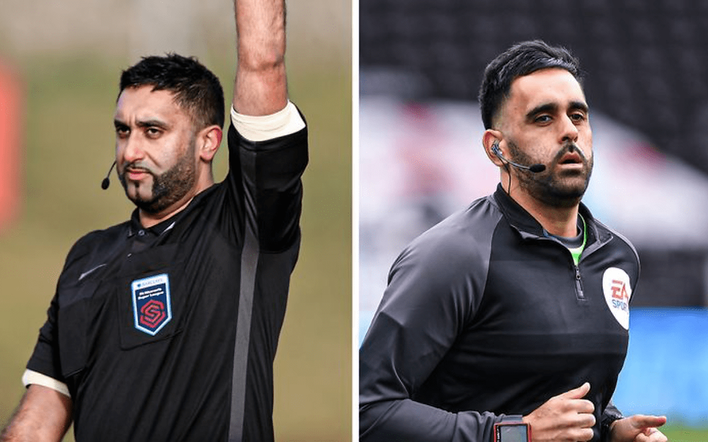 British South Asian referees Bhups and Sunny Singh Gill to make Championship history