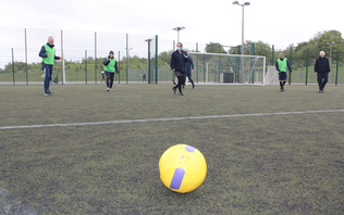 Surrey FA launch walking football sessions for current and former cancer patients