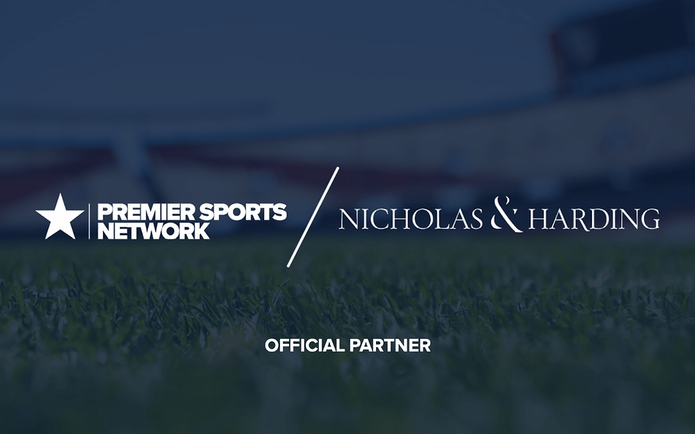 Premier Sports Network announce new partnership with traditional tailor Nicholas & Harding