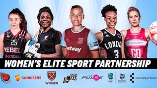 Five teams announce Women's Elite Sport Partnership