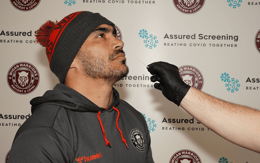 Wigan Warriors unveil an official COVID-19 testing partner for the 2021 season
