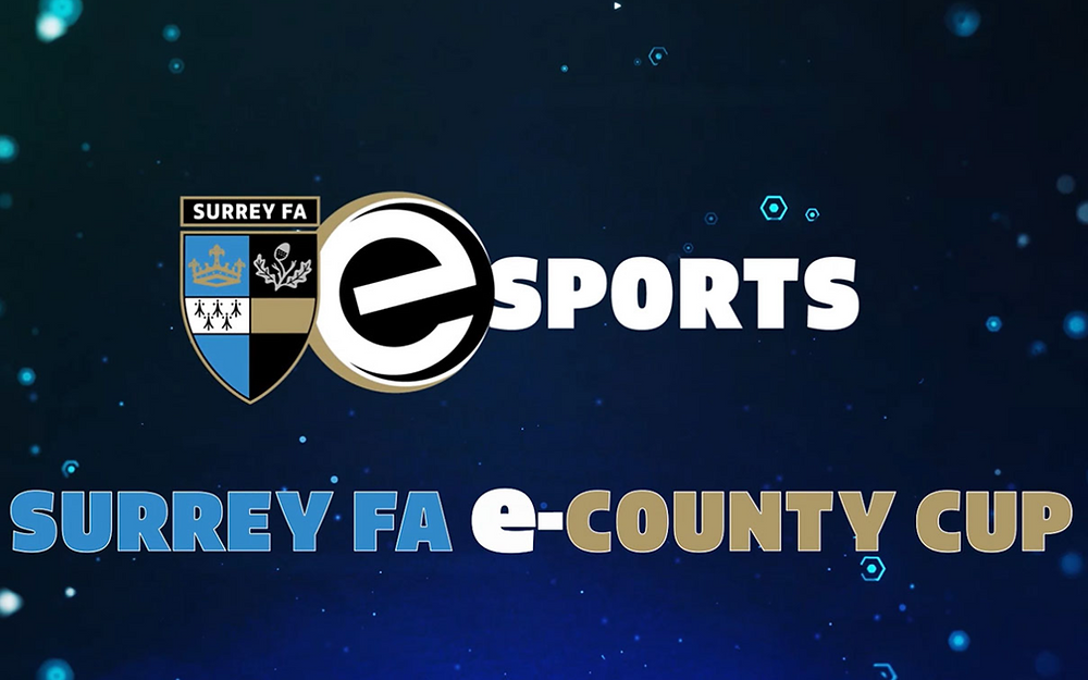 Surrey FA announce date for first e-County Cup Tournament to go ahead