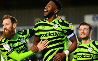Forest Green Rovers call for gambling sponsorship ban in UK