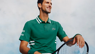 Novak Djokovic pens Lacoste extension until 2025