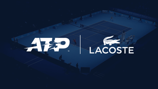 ATP extends its partnership with Lacoste