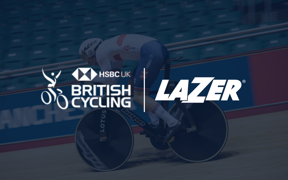 British Cycling and Lazer extend partnership for four years