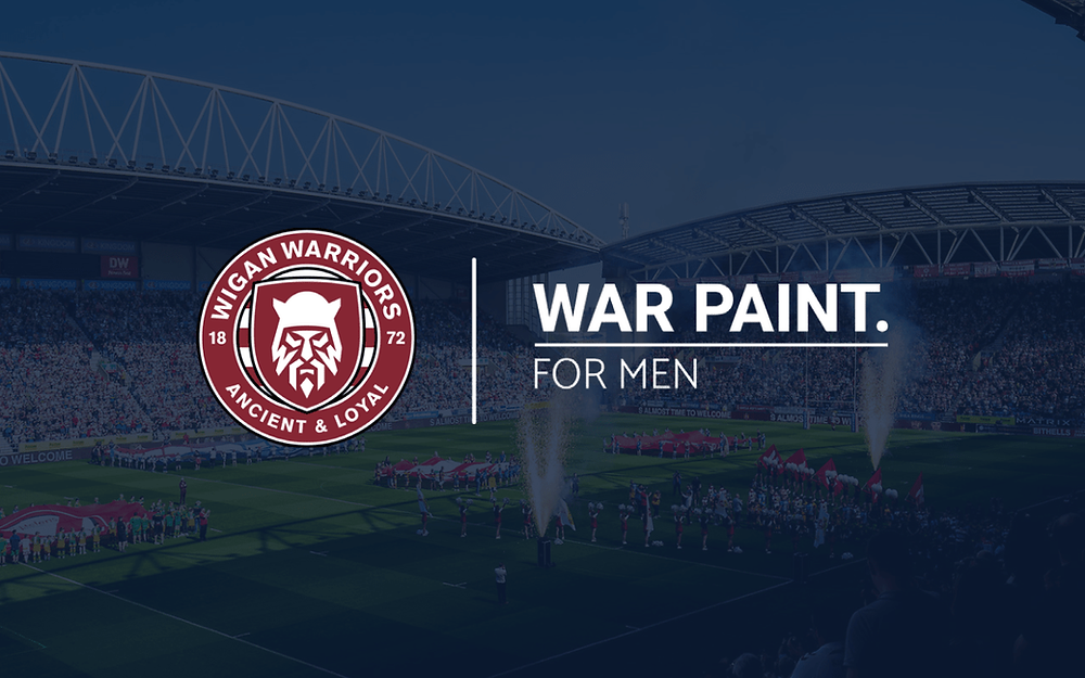 Wigan Warriors announce deal with War Paint for Men