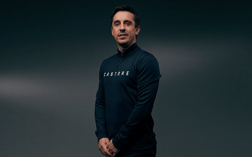 Castore announces partnership with Gary Neville