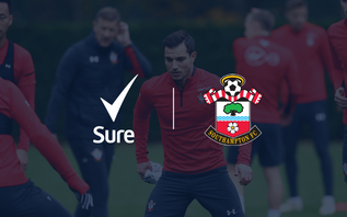Southampton unveil Sure as new training kit partner