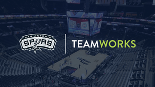 San Antonio Spurs expand partnership with Teamworks