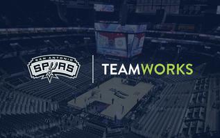 San Antonio Spurs expand partnership with Teamworks
