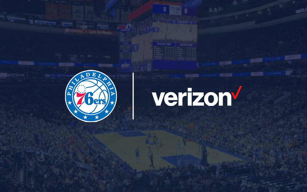 philadelphia 76ers sign sponsorship deal with verizon