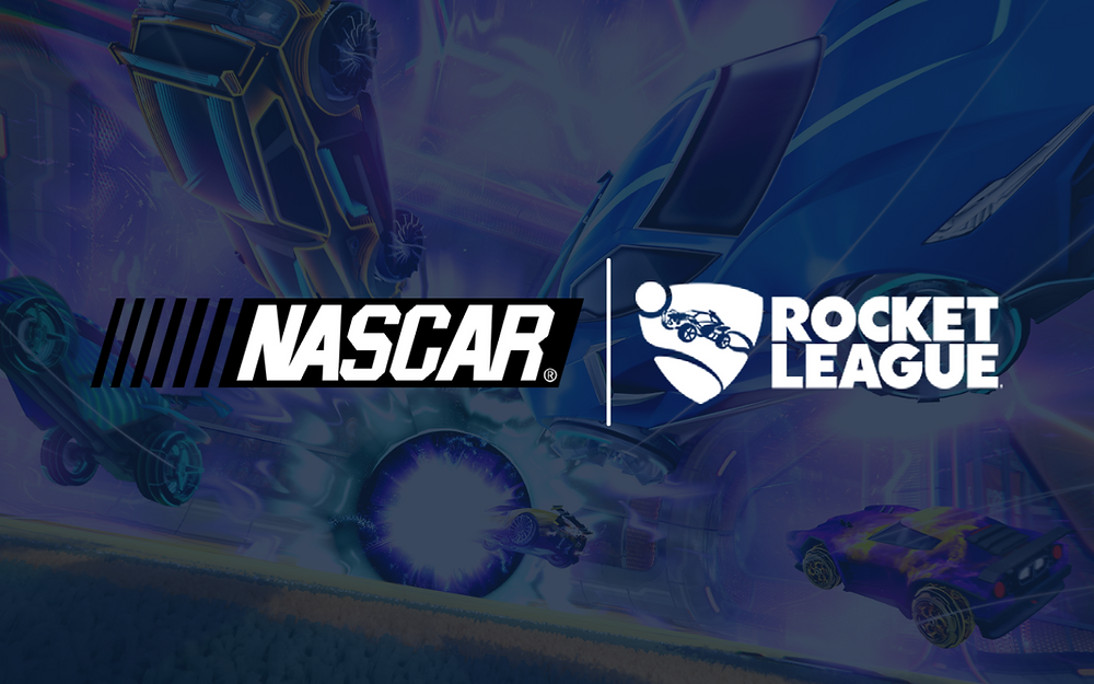 Nascar launches partnership with  popular game Rocket League