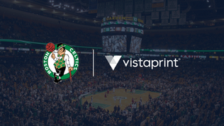 Boston Celtics partner with Vistaprint in new multi-year deal