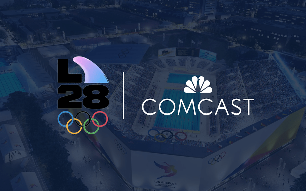 Comcast becomes second major sponsor of 2028 LA Olympic & Paralympic Games