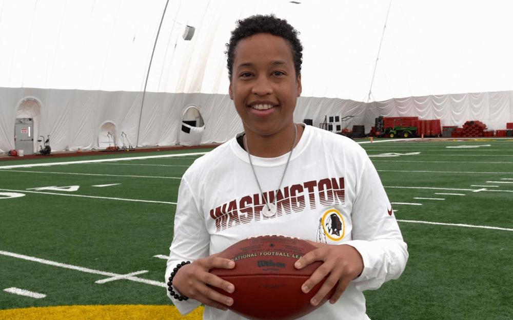 Jennifer King becomes NFLs first Black female full-time coach