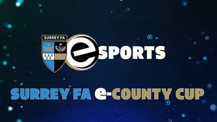 Surrey FA launches first-ever e-County Cup
