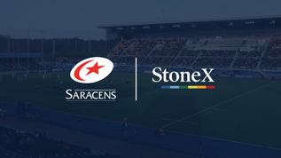Saracens secure four-year StoneX partnership
