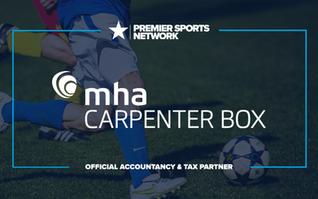 Premier Sports Network announce partnership with MHA Carpenter Box