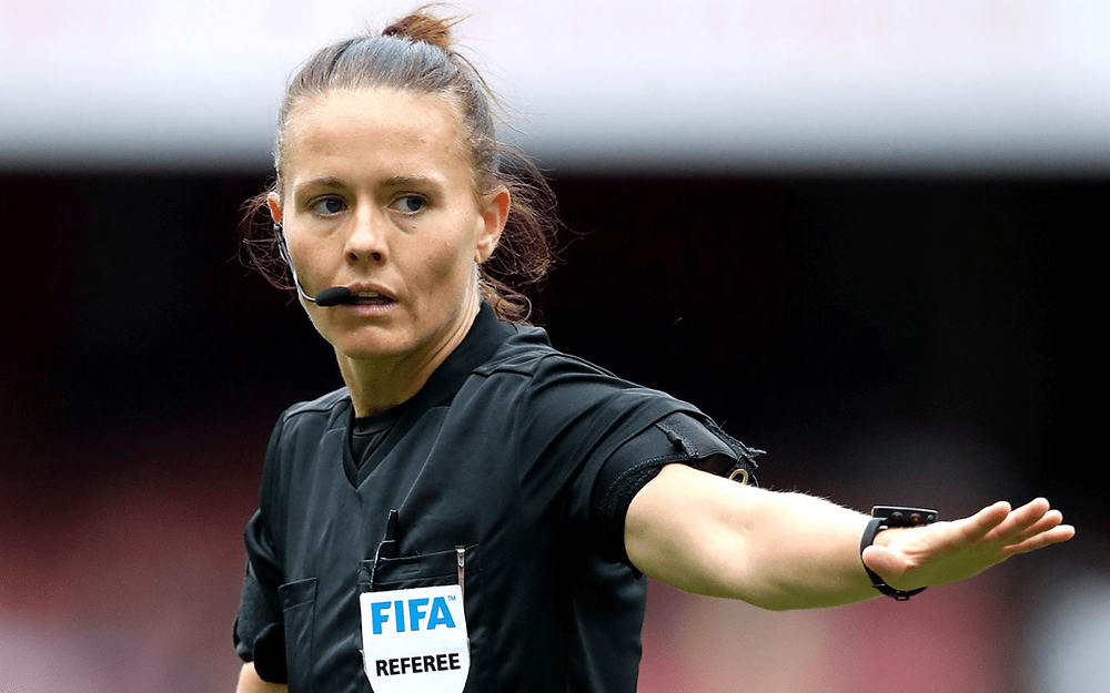 Rebecca Welch becomes first female referee appointed to an EFL fixture