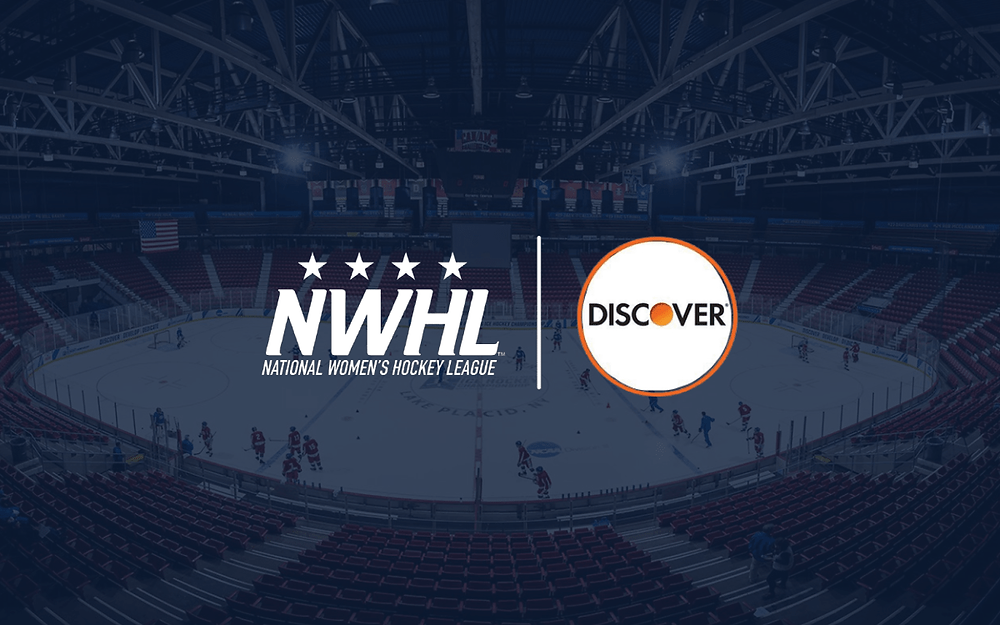 NWHL announce Discover as the largest sponsor in the league's history