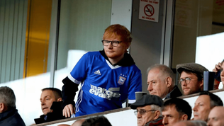 Ed Sheeran agrees one-year Ipswich Town shirt-sponsor